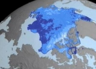 Polar Trackback Shows Ice Loss