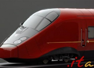 High speed train called /Ferrari on tracks/ has glided into service