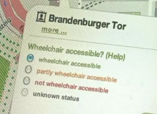 App Helps Disabled in Getting Arround