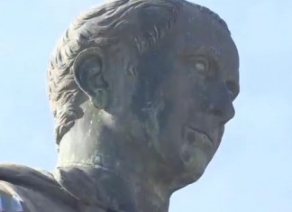Julius Caesar's last stand